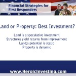 Land or Property - What's the Best Investment?