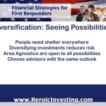 Diversification: Staying Open to Possibilities