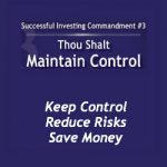 Maintain Control for Investing Success
