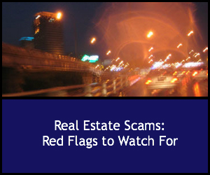 real estate scams: red flags