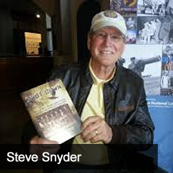 Gary Pinkerton talks with Steve Snyder, author of Shot Down: The True Story of Pilot Howard Snyder and the Crew of the B-17 Susan Ruth
