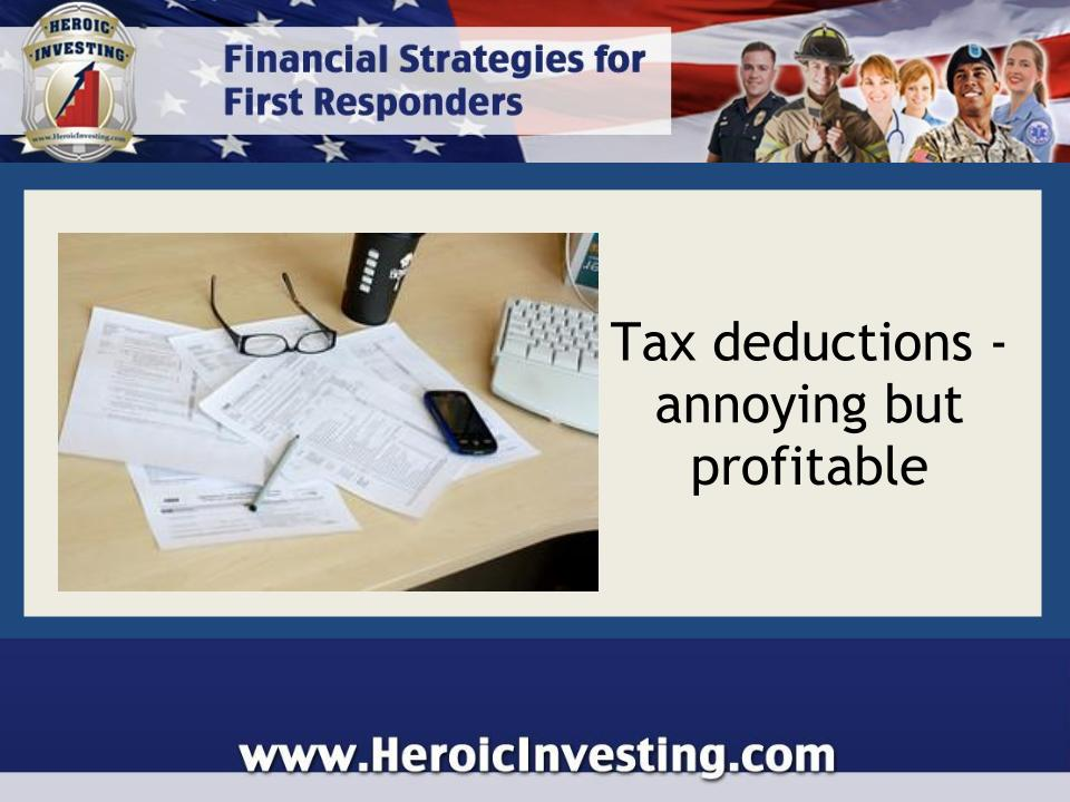 don t sneer at tax deductions   they re important   heroic