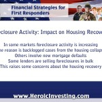 The New Wave of Foreclosures: Hurting the Housing Recovery?