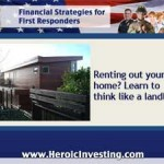 Renting Out Your Home? Think Like a Landlord