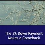 The 3% Down Payment Makes a Comeback