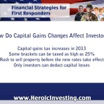 Capital Gains or Investors' Losses?