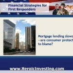 Mortgage Lending Slows and Banks Blame Regulation