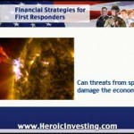 Disasters Threaten Investments –From Space?