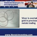 As Gold Declines, Silver Rises in Metals Trading